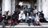 In 2010, a group of us accidentally won the Grand Prize in the Venice Carnevale.
